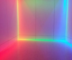 neon, colors, and light image