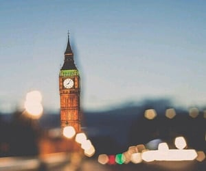 Big Ben, city, and Londres image