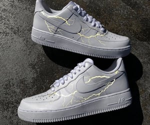 shoes, fashion, and airforce image