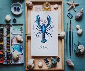 acuarela, color, and arte image