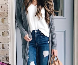 maxi cardigan and long cardigan image