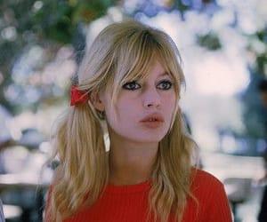 brigitte bardot, vintage, and red image