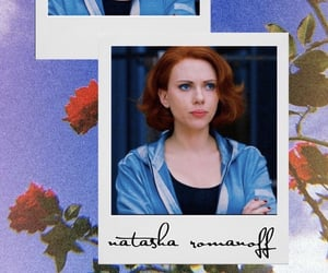 aesthetic, background, and black widow image
