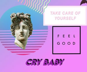 blue, cry baby, and david image