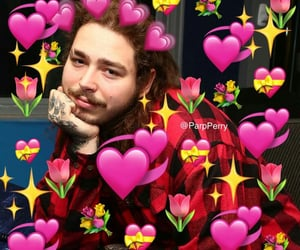 rappeurs and post malone image