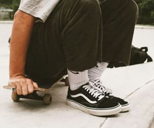 skate, vans, and boys image