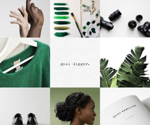 aesthetic, hp, and slytherin image