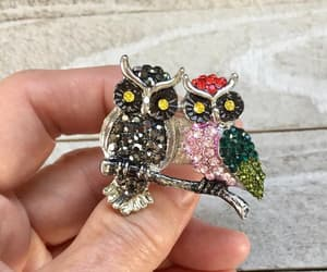 etsy, ring vintage, and bird lover image