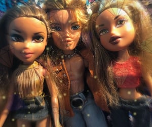 childhood, doll, and dolls image