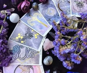 witch, aesthetic, and purple image