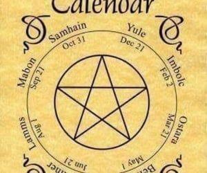 witch, calendar, and wicca image