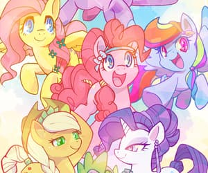 MLP, my little pony, and friendship is magic image