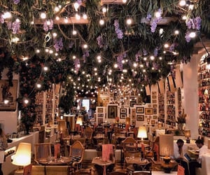 art, decor, and fairy lights image