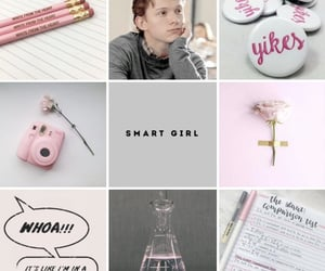 aesthetic, pink, and tom holland image
