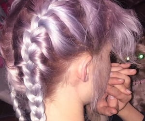 aesthetic, hair, and alternative image