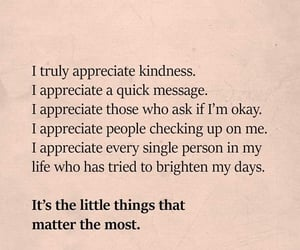 appreciate, grateful, and kindness image