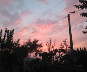 blue sky, home, and pink image