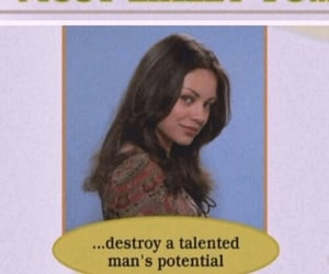 vintage, Mila Kunis, and quotes image