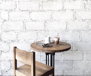 white, coffee, and interior image