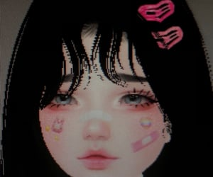 3d, aesthetic, and blush image