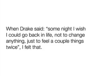 Drake, nostalgia, and words image