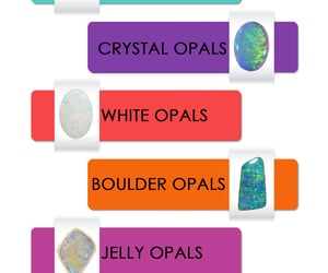 opal stone, opal ring, and opal gem image