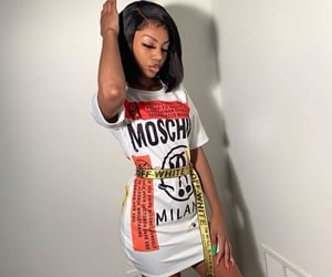 african american, designer, and Moschino image