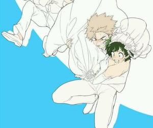anime, wedding, and bakugou image