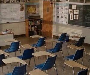 aesthetic, school, and classroom image