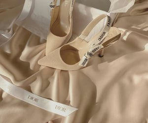 dior, shoes, and beige image