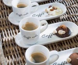 coffee, chocolate, and cafe image