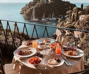 adventure, breakfast, and nature image