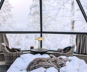 snow, winter, and cozy image