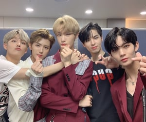 kpop, cix, and bx image