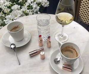 beverage, coffee, and cosmetics image