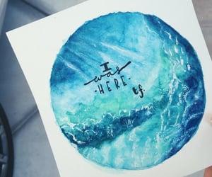 arte, blue, and book image