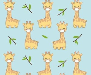 wallpaper and giraffe image