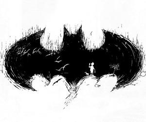 batman, black, and black and white image