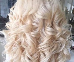 ash, curls, and girl image