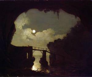 night, 18th century, and art image