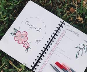 August, journal, and journaling image