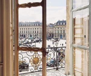 paris, france, and snow image