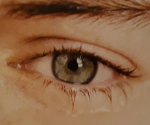 Harry Styles, eyes, and green image