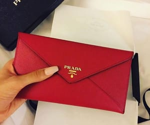 fashion, Prada, and red image