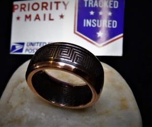 etsy, wedding band, and coin jewelry image
