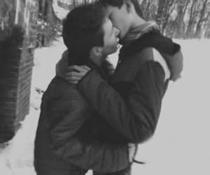 gay, kiss, and cute image