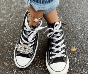 all stars, clothing, and converse image