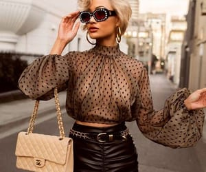 blonde, glam, and blouse image