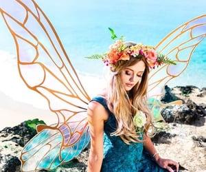 beach, Fairies, and fairy image