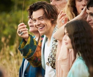 Harry Styles, gucci, and smile image